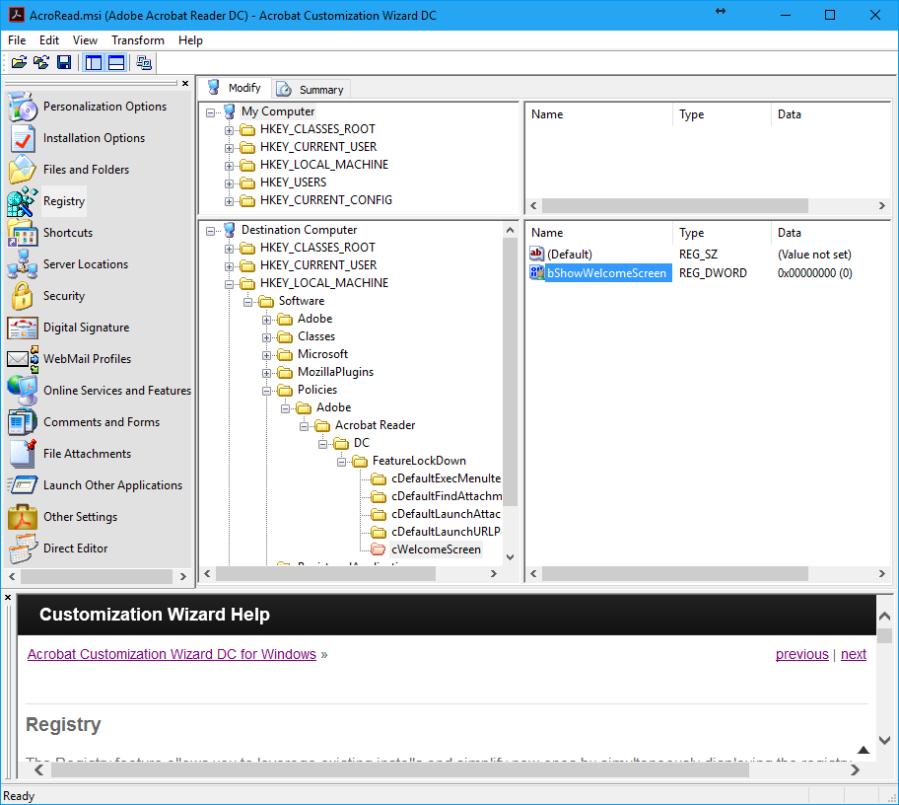 AdobeAcrobatReaderDC_Registry